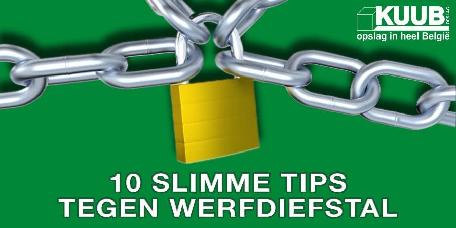 10 tips tegen werfdiefstal