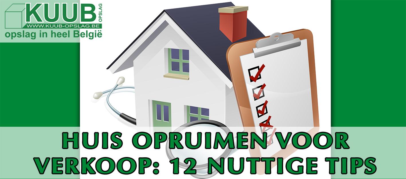 Je huis opruimen voor verkoop 12 bruikbare tips kuub for Tips opruimen