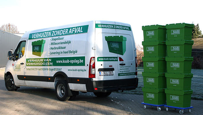 Lees de 6 baten die je hebt bij gebruik van kunststof verhuisdozen voor je verhuis.