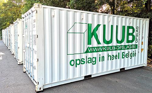 Huren opslagcontainer Gent